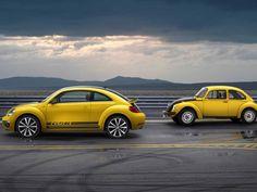 Volkswagen, Volkswagen Beetle Gsr Terrific Yellow Black Racer Side: 2014 Volkswagen Beetle GSR; Hatchback Design