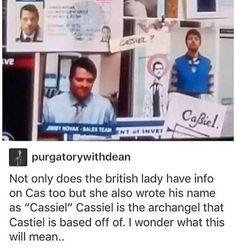 #supernatural #spn #castiel