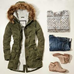Abercrombie fall outfit
