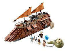 LEGO STAR WARS Jabba's Sail Barge TM 75020 from JAPAN