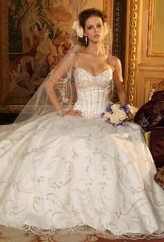 eve of milady wedding gowns | Eve of Milady - 4246 | Wedding Dresses Photos | Brides.com