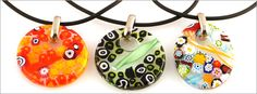 Italian Murano Glass necklaces