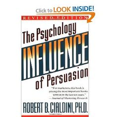 A must read for anyone who wants to influence others.