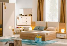 Kare Yatak Odası » Odam Mobilya Kalitesiyle