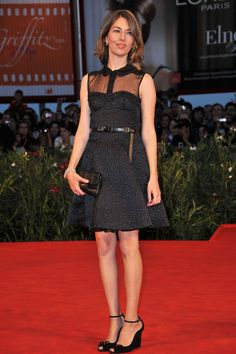 Sofia Coppola attends the 'Somewhere' premiere at the Palazzo del Cinema during the 67th Venice International Film Festival on September 3, 2010 in Venice, Italy.   - ELLE.com