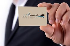 Elmien de Wet LOGO DESIGN for Atlantic Medical Recruitment.
