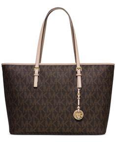 MICHAEL Michael Kors Jet Set Travel Medium Top Zip Multifunction Tote - Michael Kors Handbags - Handbags & Accessories - Macy's