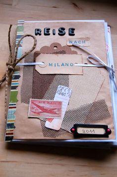 Reisetagebuch - auf nach Milano (Vorderseite)                                                                                                                                                                                 Mehr