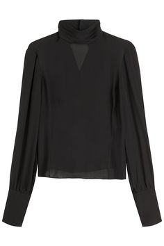 Tamara Mellon Silk Blouse Gr. US 0 | STYLEBOP saved by #ShoppingIS