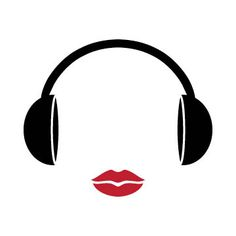 I thought of this image as I enjoy music and the lips combines with beauty and I am thinking of a mobile beauty salon in the future Music Logo, Dj Music, Listening To Music, Mobile Beauty Salon, Dj Dj Dj, Dj Business Cards, Dj Logo, Kiss Fm, Mediums Of Art