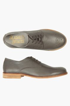 Smart Seasalt brogues in the softest leather! With all the classic brogue styling and quite possibly the most comfortable fit you're likely to find.