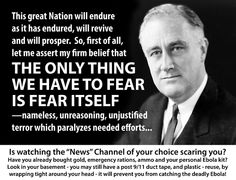 Nothing drives ratings, or votes, like good old fashion fear.