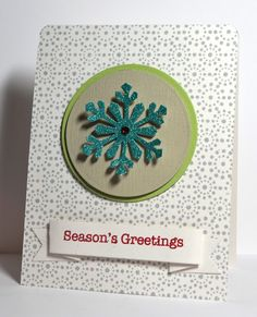 2012 Creation using Glitter Ritz and Hero Arts stamps
