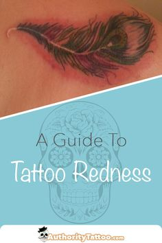 Whilst redness on a new tattoo is normal, it can sometimes be a cause for concern. We'll show you what's normal what's not when it comes to tattoo redness. Red Tattoos, Tatoos, Tattoo Shop Decor, Learn To Tattoo, Tattoo Care, Tattoo Aftercare, Tattoo Healing, Things To Come, Ink
