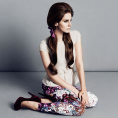 Lana Del Ray   fall/winter inspiration for H & M!