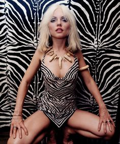 From the until the the new wave rockers Blondie, led by singer Debbie Harry and guitarist/songwriter Chris Stein, never encountered a sound they could not make their own. Blondie Debbie Harry, Debbie Harry Style, Debbie Harry Hot, Chris Stein, Iggy Pop, Kanye West, Divas, Women Of Rock, Rockn Roll