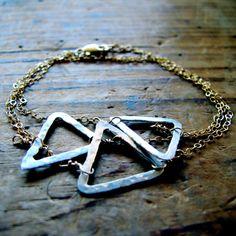 Tri Delta Wrap Bracelet