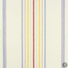Toweling Multi Stripe - Blue  | Fabric Depot