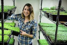 Urban Farms: The New Frontier for Female Farmers - http://modernfarmer.com/2015/12/female-urban-farmers/?utm_source=PN&utm_medium=Pinterest&utm_campaign=SNAP%2Bfrom%2BModern+Farmer