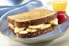 Banana Bliss Breakfast Sandwiches http://www.recipes-fitness.com/bananabliss-breakfast-sandwiches/