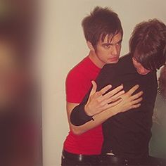 Brendon groping Ryan in public. I am okay with this.