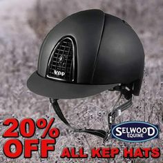 We've got an amazing deal currently on... Save 20% on our range of KEP riding hats!!!!  Click here to view to the full range - http://www.selwoodequine.com/?s=KEP&post_type=product  Read our latest blog about KEP hats here - http://www.selwoodequine.com/superior-riding-hat-2014/