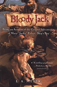 """♥ Being an Account of the Curious Adventures of Mary """"Jacky"""" Faber, Ship's Boy  (favorite book series of my whole entire life!!!)"""