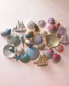 Ombre Glittered Seashell Ornaments | Step-by-Step | DIY Craft How To's and Instructions| Martha Stewart