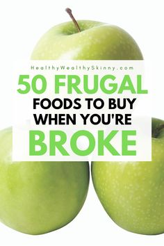 Explore this list of the most frugal foods that you can buy when you're broke. With this broke grocery list, you can eat healthy on a tight budget. Frugal Recipes, Frugal Tips, Frugal Meals, Cheap Meals, Cheap Food, Cooking Recipes, Ways To Save Money, How To Get Money, Money Tips