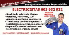 Electricistas Valencia y Provincia 603 932 932