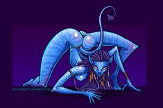 Neytiri by on DeviantArt Female Villains, Female Characters, Critical Role Characters, Camo Colors, Anime Fantasy, Monster Girl, Mythical Creatures, Art Google, Cartoon Art