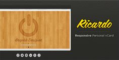 Shopping Ricardo - Responsive Personal vCardWe have the best promotion for you and if you are interested in the related item or need more information reviews from the x customer who are own of them before please follow the link to see fully reviews