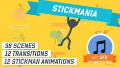Explainer Video Stickmania  • After Effects Template • See it in action ➝…