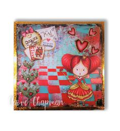 Made by Claire Chapman using Winnie in Wonderland collection. http://www.polkadoodles.co.uk/downloads-printables/download-collections/winnie-in-wonderland/