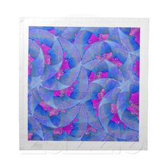 Autumn Leaves American MoJo Napkins from Zazzle.com    autumn,leaves,turquoise, magenta,artistic, abstract, flower, digital,modern,retailer