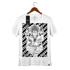 Camiseta Ganesh, 100% Algodão, malha fio 30 penteado, com tecnologia…