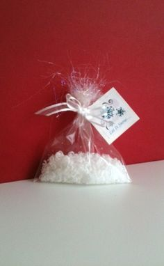 Snow SOAP Holiday Party Favors, Christmas Party Favor, New Years Party Favor, Winter wedding, Stocking Stuffer on Etsy, $2.50