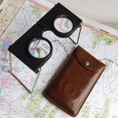 Binocular Cases & Accessories Expressive Rare 1936 Ww2 Era Swiss Military Army Leather Binocular Case Great Condition High Quality Goods