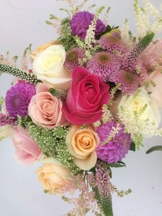 Pastel colours for a beautiful bride Pastel Colours, Beautiful Bride, Floral Wreath, Barn, Wreaths, Flowers, Home Decor, Floral Crown, Converted Barn