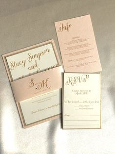 gold wedding invitation wedding invitation suite blush and gold wedding invitations - Blush Wedding Invitations