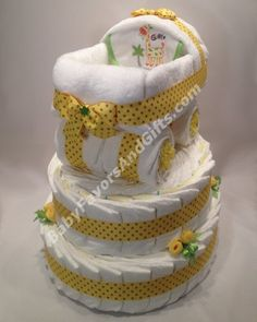 Baby Carriage Diaper Cake Base http://babyfavorsandgifts.com/baby-carriage-diaper-cake-base-p-286.html
