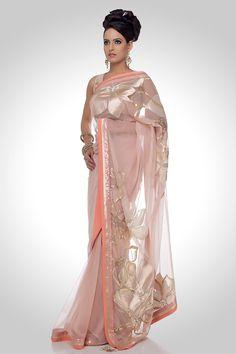 Satya Paul Saree. So Pretty!