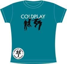 COLDPLAY DANCE WOMEN'S T-SHIRT