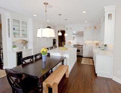 Modern custom kitchen remodel.