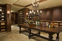 Idea for a wine cellar