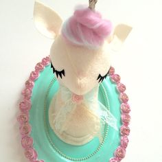 Unicorn Faux Taxidermy by MisfitMenagerie on Etsy