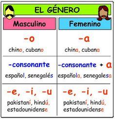 School blogger: Zelfstandige naamwoorden: geslacht en getal