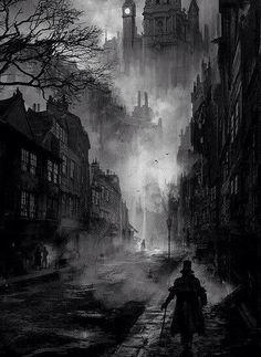 Gothic artwork.