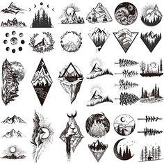 Fake Tattoos, Mini Tattoos, Body Art Tattoos, Small Tattoos, Tattoos For Guys, Sleeve Tattoos, Tattoos For Women, Small Wave Tattoo, Tatoos