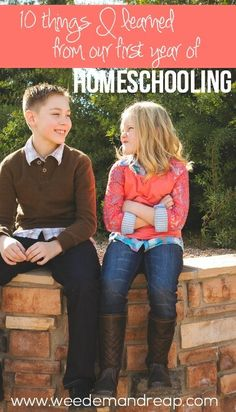 10 Things I learned from our FIRST year of Homeschooling - It's been almost a year since we began our homeschooling journey , so naturally, we're experts.  (whips hair over shoulder)Er, not really.If homeschooling has taught me anything,